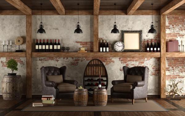 Дизайн винного погреба и идеи для правильного хранения бутылок 3 42 Строительный портал