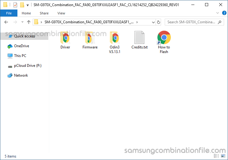 samsung combination firmware