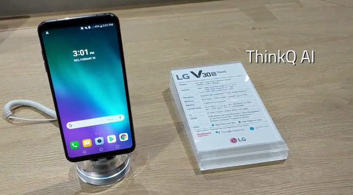 Here is the LG V30S ThinQ First Look