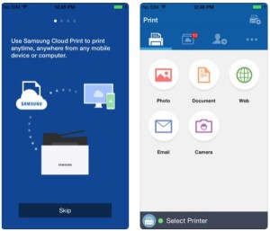 HP Samsung Cloud Print App | Samsung Printer Drivers