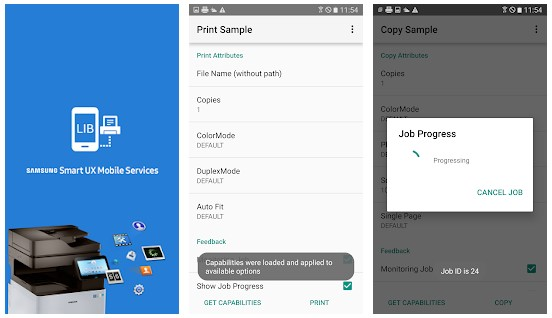 Samsung SmartUX MobileServices App
