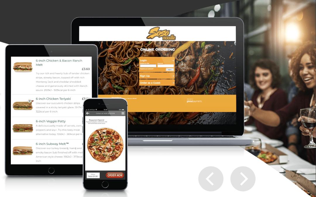 Online Ordering App & Website