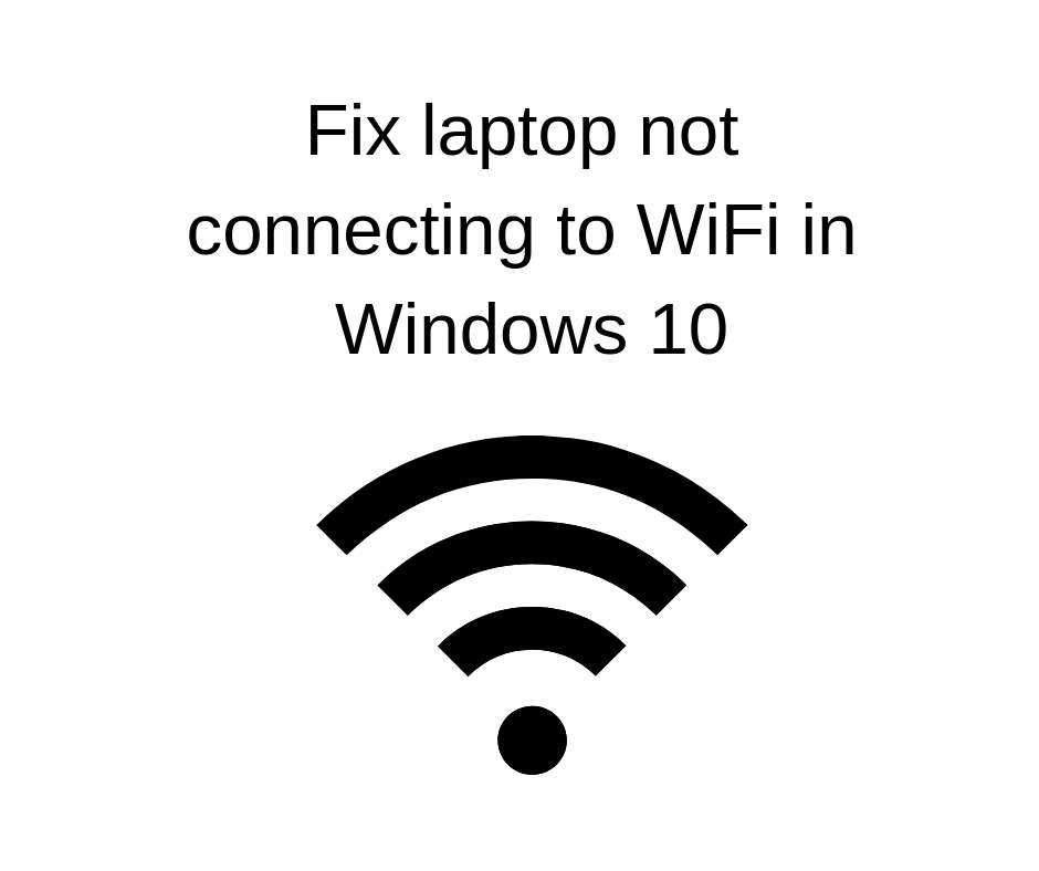 Fix laptop not connecting to WiFi in Windows 10.png