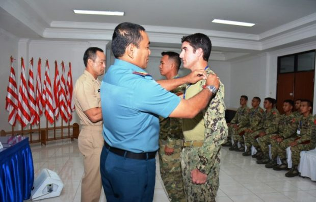 , Kopaska TNI AL Gelar Latihan Thunder Iron 18-2446 Bersama US Navy Seal, SamuderaKepri