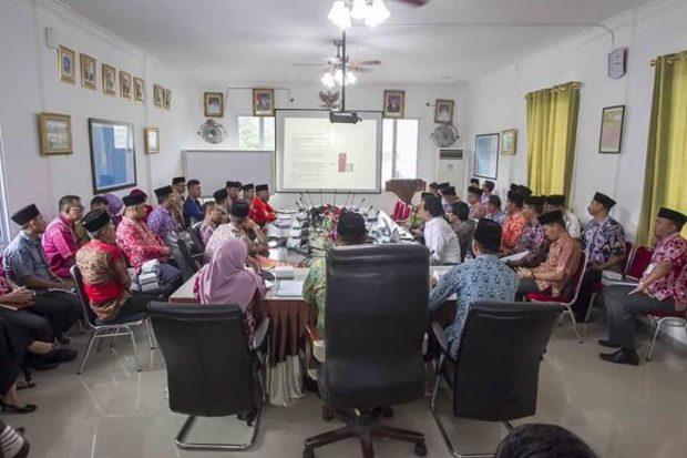 , Penyampaian Laporan RPJMD Kabupaten Anambas tahun 2018-2021, SamuderaKepri