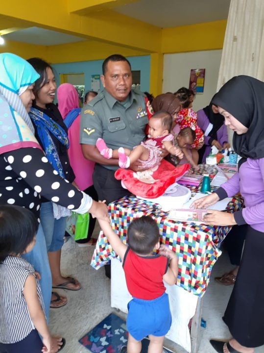 , Komsos di Posyandu Anggrek 22 Kelurahan  Kampung Pelita, SamuderaKepri