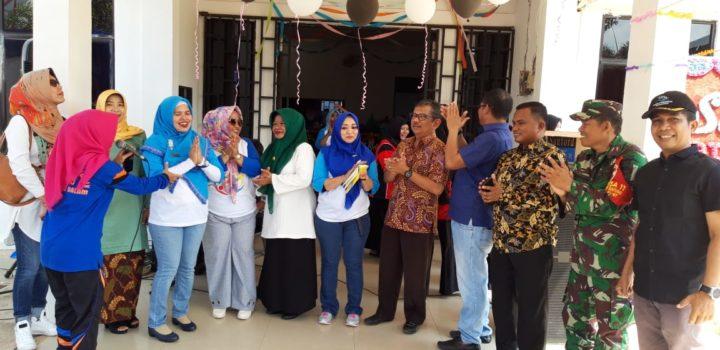 Babinsa Serma L. Sibarani, Hadiri HUT ke-5 Puskesmas Tanjung Buntung, SamuderaKepri