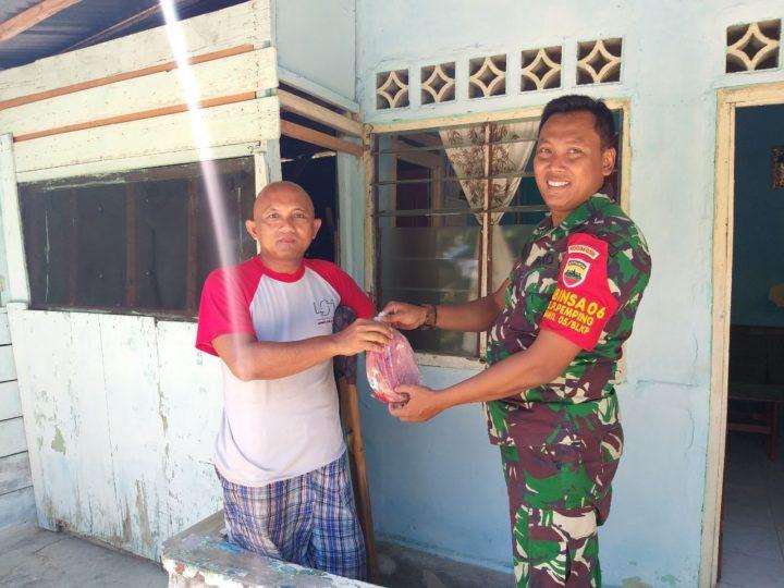 , Kegiatan humanis Serka Heri Kiswanto Babinsa Kelurahan Pemping Koramil 05/Belakang Padang, SamuderaKepri