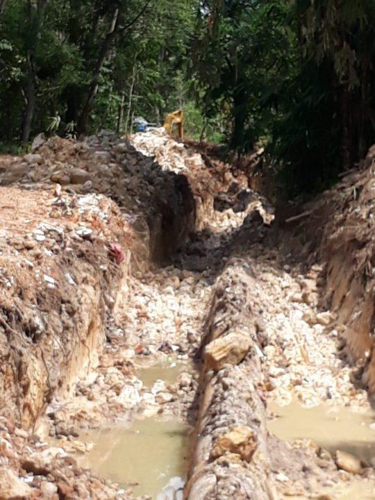 Ditpam BP Batam Laporkan Kegiatan Ilegal Di Area Hutan Duriangkang Ke Pihak Berwajib, SamuderaKepri