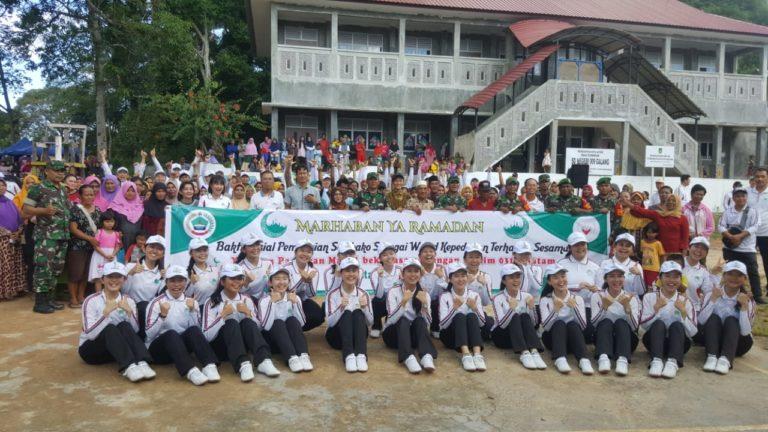 Kodim 0316/Batam Dan Yayasan Pancaran Maitri Berbagi Kasih Di Rempang Cate, SamuderaKepri