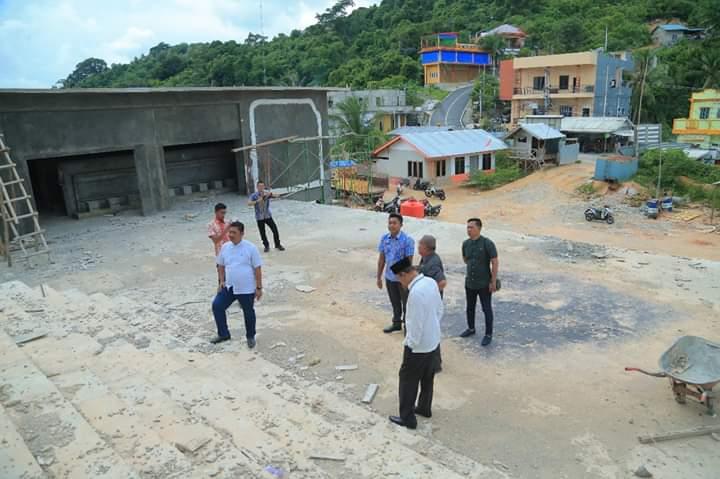 DPRD Anambas : Optimis Masjid Agung Segera Selesai, SamuderaKepri