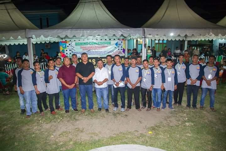 Kompetisi Domino Menyemarakkan HUT Kabupaten Kepulauan Anambas ke 11