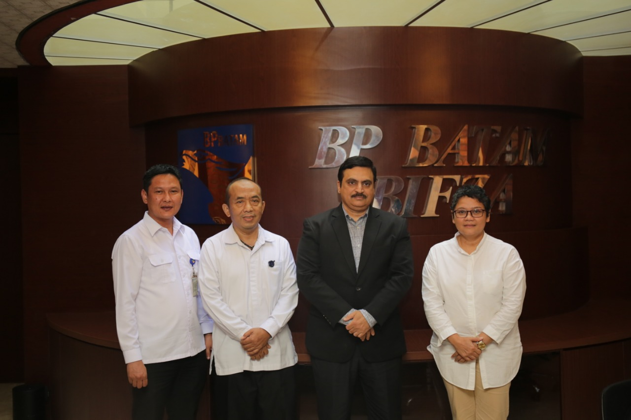 Konsulat Jenderal India Kunjungi BP Batam Ungkap Rencana Ekspansi Perusahan India Ke Batam, SamuderaKepri
