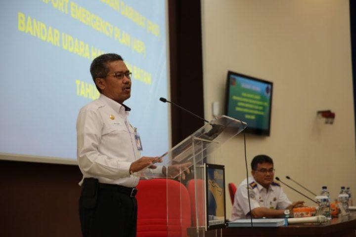 , BP Batam Gelar Rapat Rencana Penanggulangan Keadaan Darurat Bandara Hang Nadim, SamuderaKepri