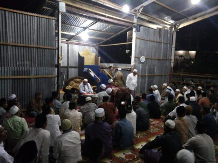 Tepung Tawar (Peusijuek) Mesjid Baitul Maghfirah