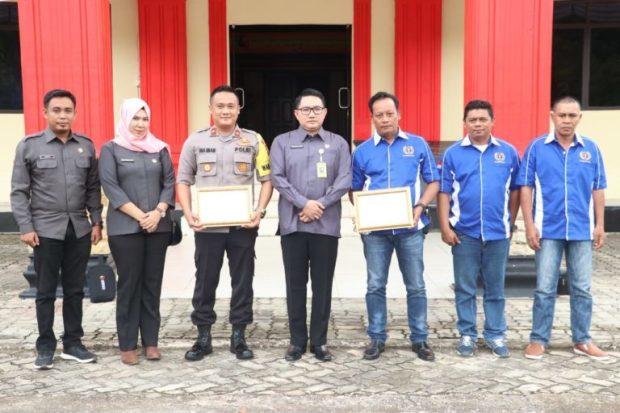 PWI Lingga Dapat Penghargaan Dari Bawaslu