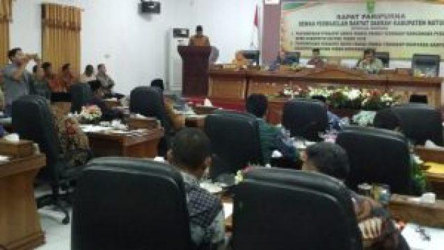 Luar Biasa, APBD Perubahan Kabupaten Natuna Disahkan Rp. 1,3 T