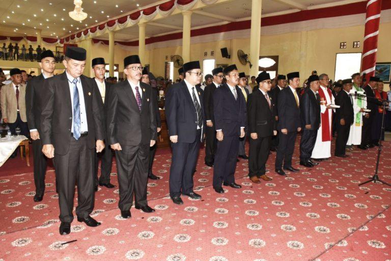, Pelantikan 20 Anggota Dewan Perwakilan Rakyat Daerah (DPRD) Kabupaten Natuna periode 2019-2024, SamuderaKepri