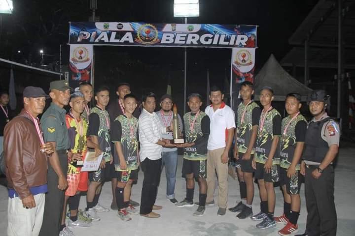 , Turnamen Singkep Barat Cup I Berakhir, Tim Desa Kualaraya Keluar Sebagai Juara, SamuderaKepri