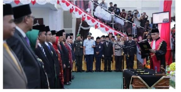 Pelantikan 30 Anggota DPRD Kota Tanjungpinang