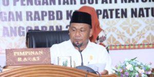 Rapat Paripurna DPRD Natuna Penyampaian Nota Keuangan RAPBD 2020, SamuderaKepri