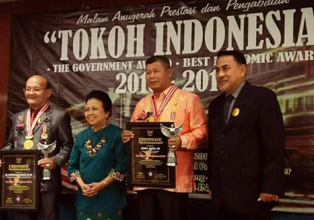 ", Penghargaan tingkat Nasional ""The Government awards"" Diterima Bupati Anambas, SamuderaKepri"