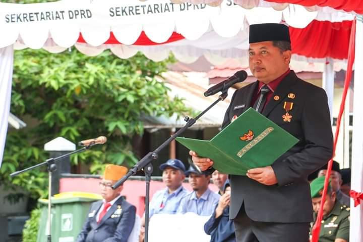 Upacara Peringatan Hari Pahlawan 10 November 2019 di Kabupaten Anambas, SamuderaKepri