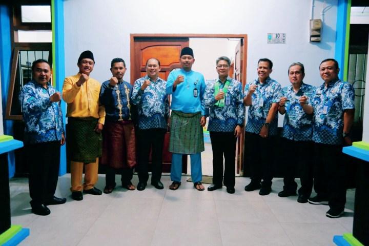 , Kunjungan Kerja  Kepala BMKG Bidang Meteorologi ke UPT BMKG Stasiun Meteorologi Tarempa, SamuderaKepri