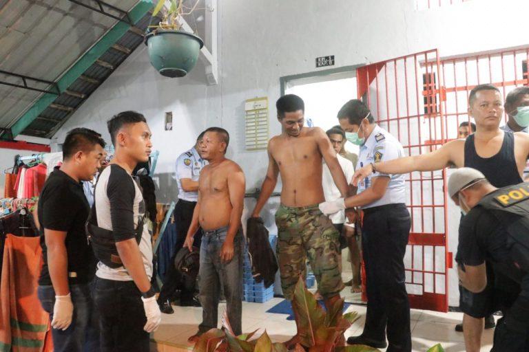 Razia Gabungan, Lapas Kelas III Dabo Singkep Bersih Dari Narkoba