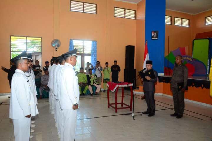 Wakil Bupati Lingga Lantik Serentak 13 Penjabat Kepala Desa