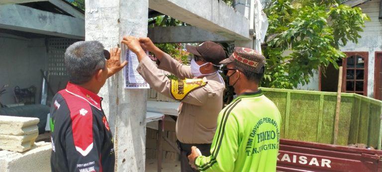 Berita Nusantara Indonesia, Cegah Covid-19, Warga RW 4 dan RW 5 Tanjung Unggat Bersama Katimmas Lakukan Penyemprotan infektan, SamuderaKepri