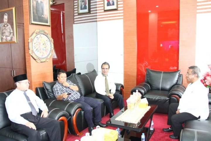 , Jumaga Nadeak Ketua DPRD Terima Kunjungan Kajati Kepri, SamuderaKepri