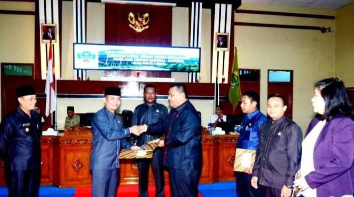 Rapat Paripurna DPRD 2020, Pemkab Lingga Ajukan Tiga Ranperda, SamuderaKepri