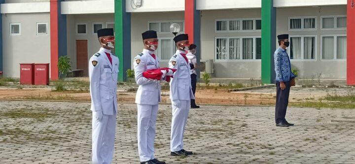 Upacara Peringati Kemerdekaan RI 75 tahun, Kabupaten Anambas Tetap Jalankan Protokol Kesehatan