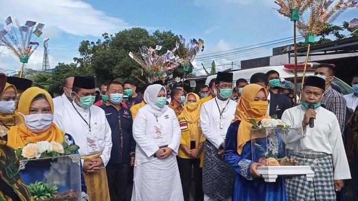 Ansar Ahmad-Marlin Agustina Daftar Ke KPU Kepri, SamuderaKepri