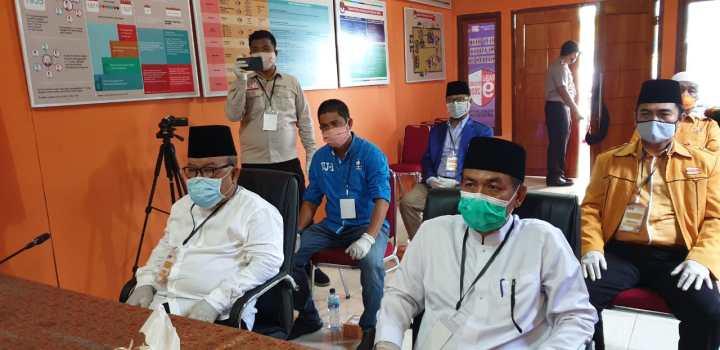 Yusrizal-Fathurahman Bakal Calon Bupati-Wakil Bupati Anambas Resmi Mendaftar Ke KPU Anambas