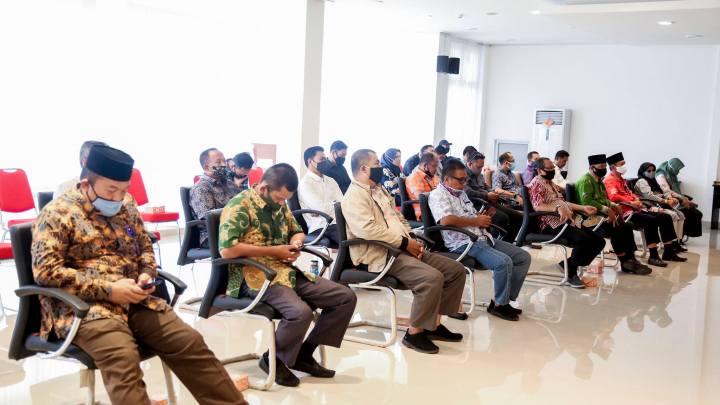 Dokumen DPA-APBD Tahun 2020 Anambas Diserahkan Pjs Bupati Eko Sumbaryadi, SamuderaKepri