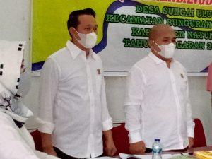 Komisi III DPRD Natuna Eri Marka Hadiri Musrenbang Sungai Ulu, SamuderaKepri