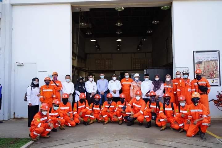 Training Welder PT Saipem Untuk Tamatan SMK Dibuka Bupati Karimun, SamuderaKepri