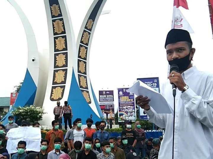 Mahasiswa Aceh Serukan Indonesia untuk Melawan Israel: Ayo Gandeng Turki!, SamuderaKepri
