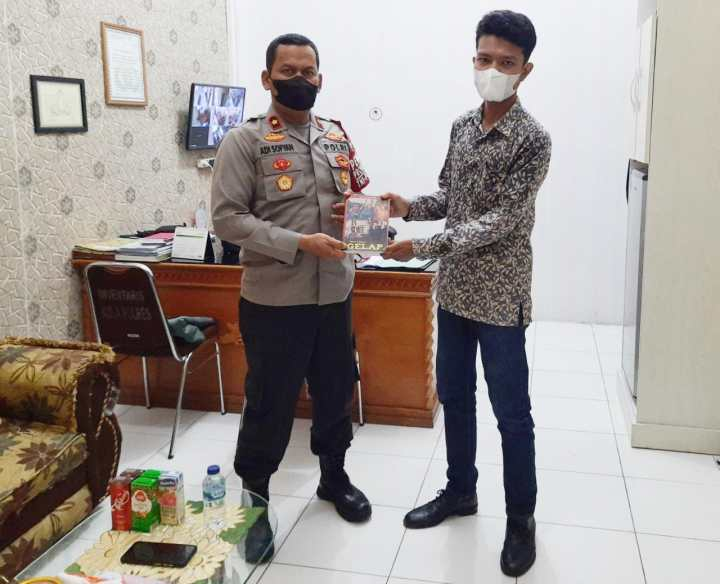 Marak Provokator dan Hoax, Pemuda Aceh Sambangi Polres Aceh Barat, SamuderaKepri