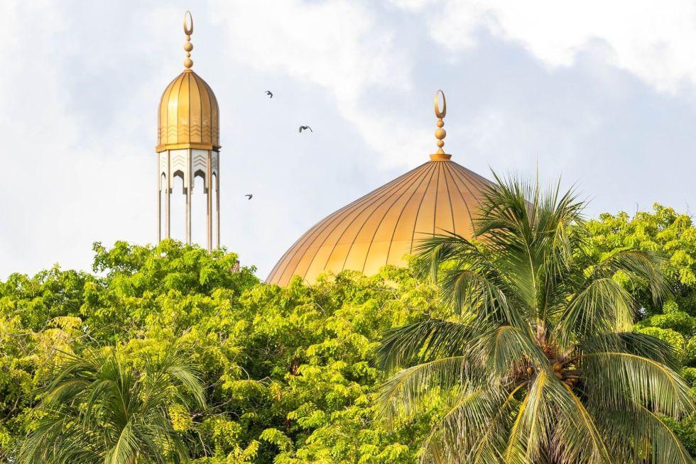 Grand Friday Mosque in Malé, Maldives