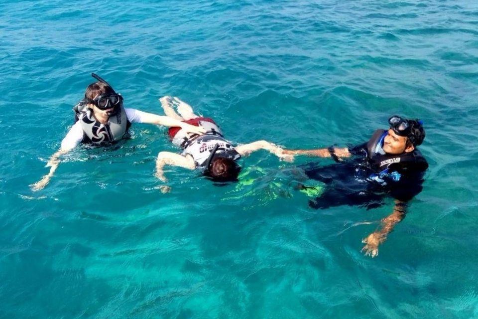 Maldives 3 Point Snorkeling Picnic