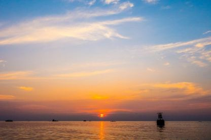 Sunset dolphin watching with Full Day Maldives Adventure Trip