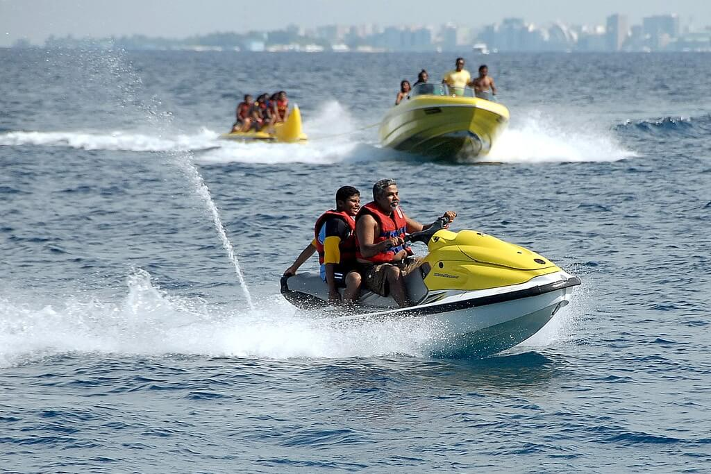 Water Sports in Maldives