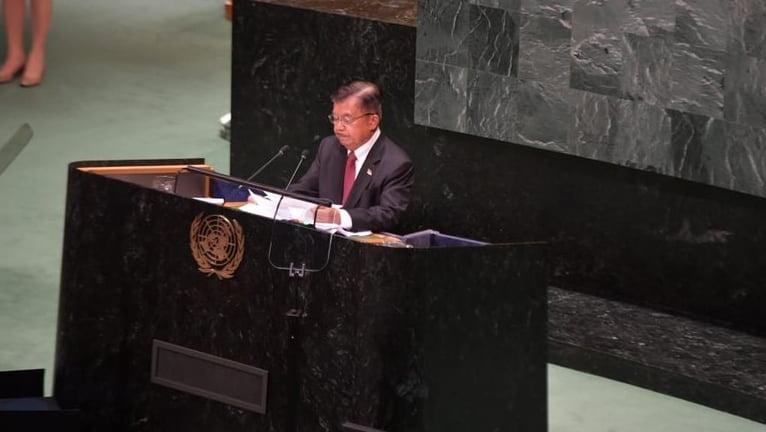 Saat Sidang Umum PBB, JK Kerap Ditanya Soal Keberadaan Jokowi