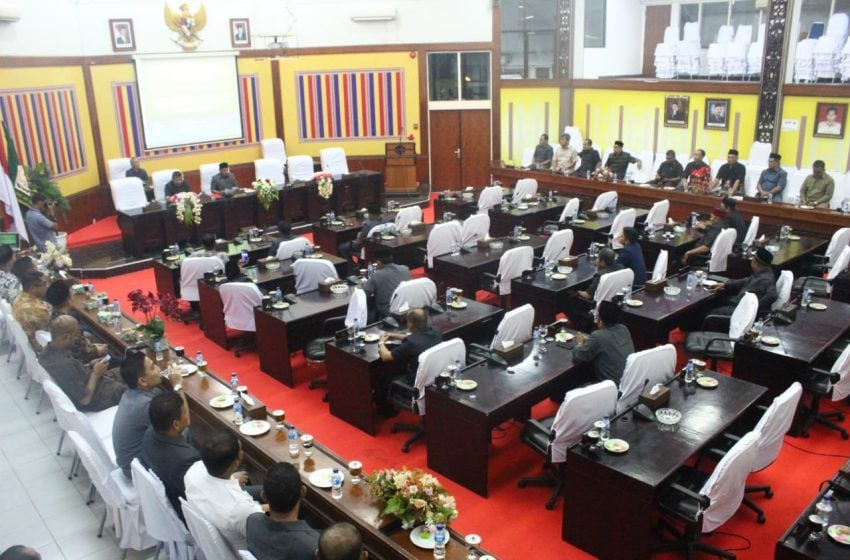 DPRK Aceh Utara Batal Sahkan Pimpinan Dewan, Ini Sebabnya