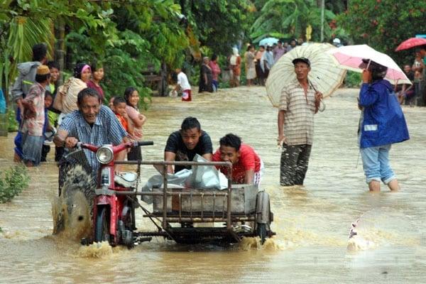 2 Desa Terendam Banjir Aceh Tenggara, Warga Mulai Mengungsi
