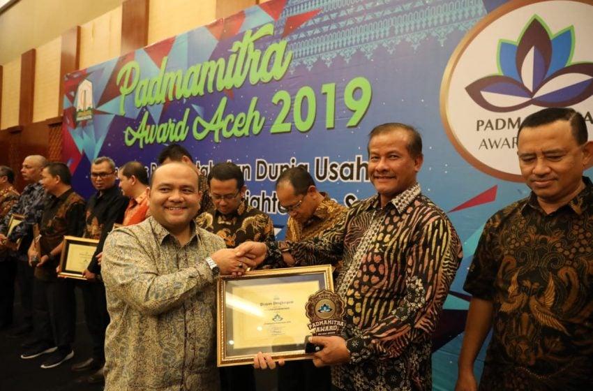 PT PIM Terima Padmamitra Award Aceh 2019 Dari Pemerintah Aceh
