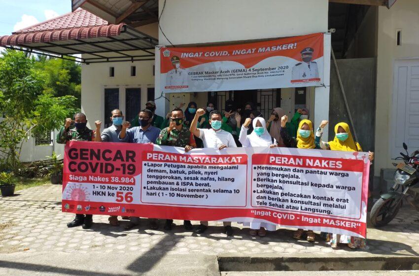 Dinkes Lhokseumawe Gencar Sosialisasi Protokol Kesehatan